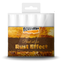 Rust effect paint set