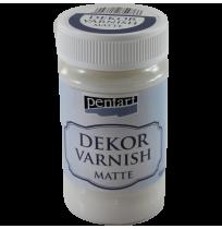 Dekorativni lak mat Pentart - 100 ml